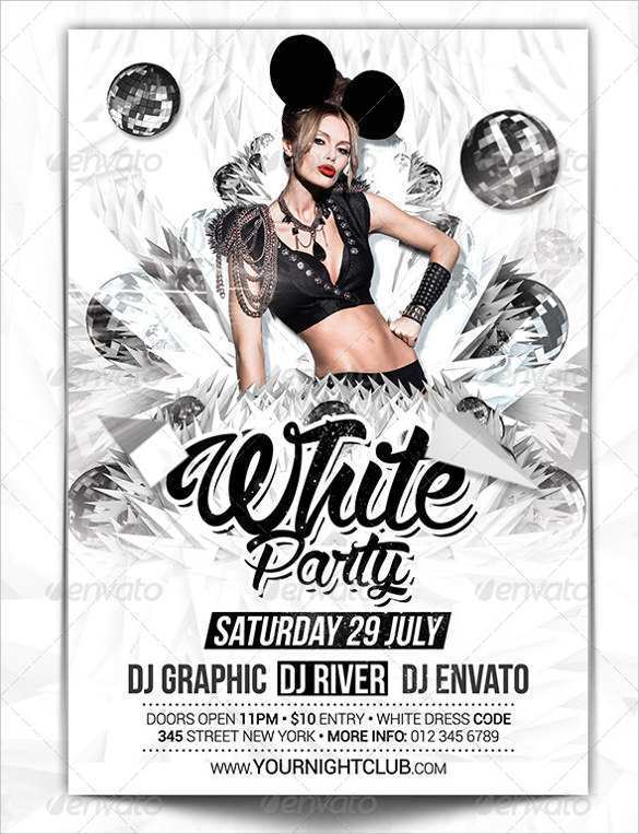 60 Format Club Flyer Templates Free Download Download with Club Flyer Templates Free Download