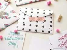 Free Printable Valentine Card Template