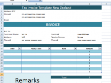 13 Report Tax Invoice Example Nz Maker With Tax Invoice Example Nz Cards Design Templates
