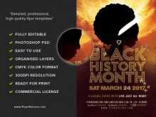 60 Free Printable Black History Month Flyer Template Free For Free for Black History Month Flyer Template Free