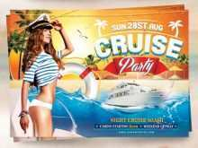 60 Free Printable Boat Cruise Flyer Template in Word for Boat Cruise Flyer Template