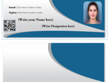 60 Horizontal Id Card Template Word by Horizontal Id Card Template Word