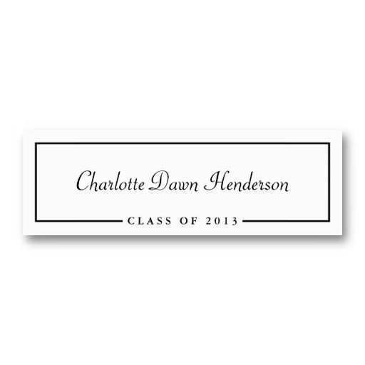 60 How To Create Graduation Name Card Templates Free Download with Graduation Name Card Templates Free