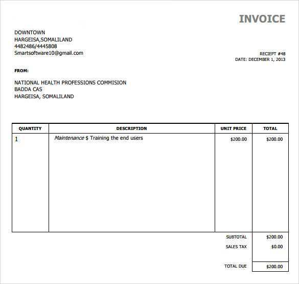 60 How To Create Invoice Template Simple In Word For Invoice Template Simple Cards Design Templates