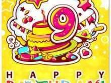 60 Online 9 Year Old Birthday Card Template Maker by 9 Year Old Birthday Card Template