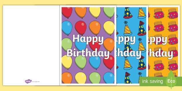 60 Online Birthday Card Templates Sparklebox for Ms Word for Birthday Card Templates Sparklebox