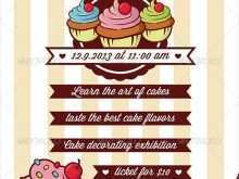 60 Report Cupcake Flyer Template With Stunning Design by Cupcake Flyer Template