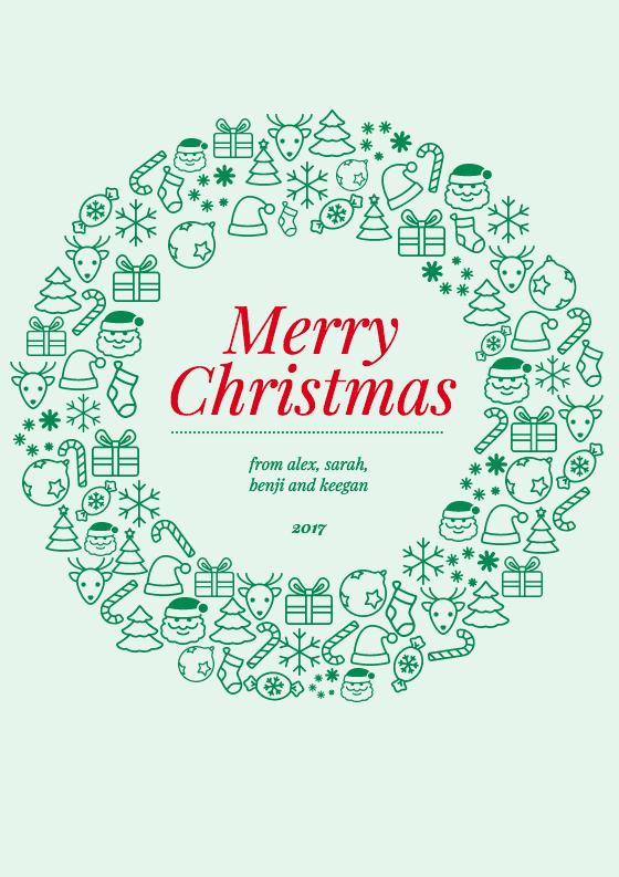 60 Standard Christmas Card Template Design PSD File by Christmas Card Template Design