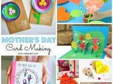 Diy Mothers Day Card Handprint