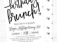 60 The Best Birthday Invitation Flyer Template Layouts for Birthday Invitation Flyer Template