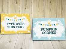 60 The Best Buffet Tent Card Template Layouts with Buffet Tent Card Template