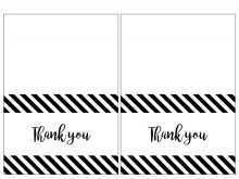 60 The Best Thank You Card Templates Printable Now by Thank You Card Templates Printable