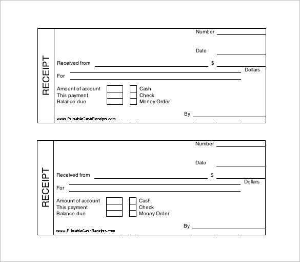 60 Visiting Blank Receipt Template Doc in Photoshop with Blank Receipt Template Doc