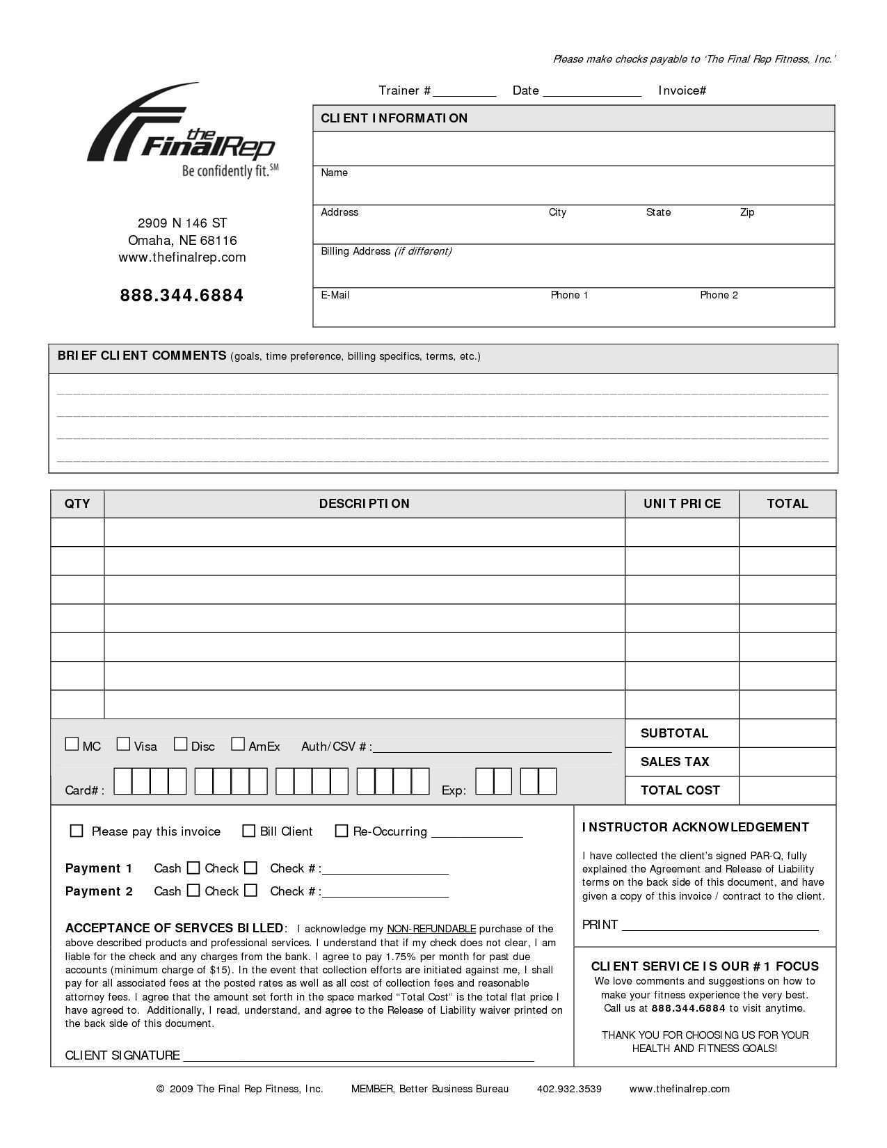 61 Adding Personal Consulting Invoice Template For Ms Word