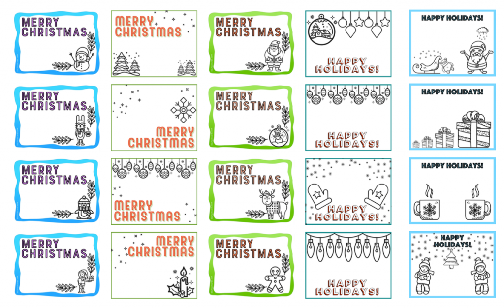 61 Best Christmas Card Templates Esl Photo for Christmas Card Templates Esl