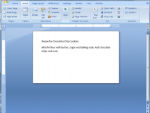 Cue Card Template For Word