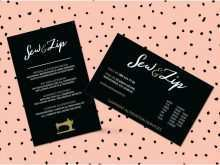 61 Blank Business Card Template Girly in Word for Business Card Template Girly
