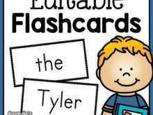 61 Blank Free Editable Flashcard Template Word Templates with Free Editable Flashcard Template Word