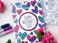 61 Blank Mother S Day Card Templates To Colour in Photoshop for Mother S Day Card Templates To Colour
