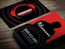 61 Create Dj Business Card Template Free Download Maker for Dj Business Card Template Free Download