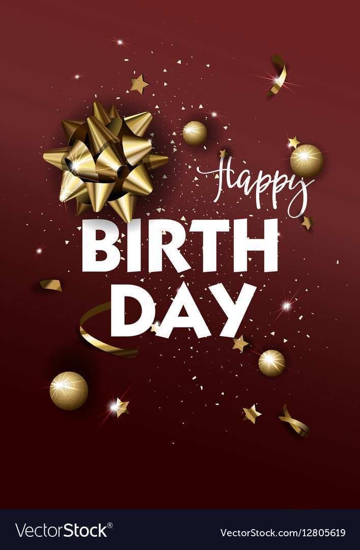 61 Create Happy B Day Card Templates Vector in Word with Happy B Day Card Templates Vector