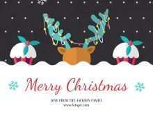 61 Creating Christmas Card Template To And From For Free with Christmas Card Template To And From