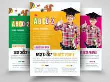 61 Creating Education Flyer Templates With Stunning Design by Education Flyer Templates