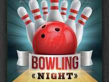 61 Creative Bowling Event Flyer Template Formating for Bowling Event Flyer Template