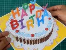 61 Customize Birthday Pop Up Card Templates Pdf Layouts by Birthday Pop Up Card Templates Pdf