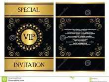 Business Invitation Card Template Free Download