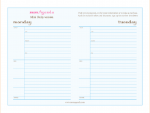 61 Free Daily Calendar Template For Word Layouts with Daily Calendar Template For Word