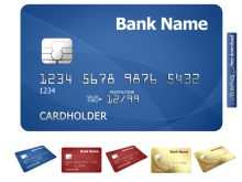 61 How To Create A Credit Card Template Now with A Credit Card Template
