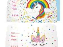 61 Online Invitation Card Template Unicorn Now by Invitation Card Template Unicorn