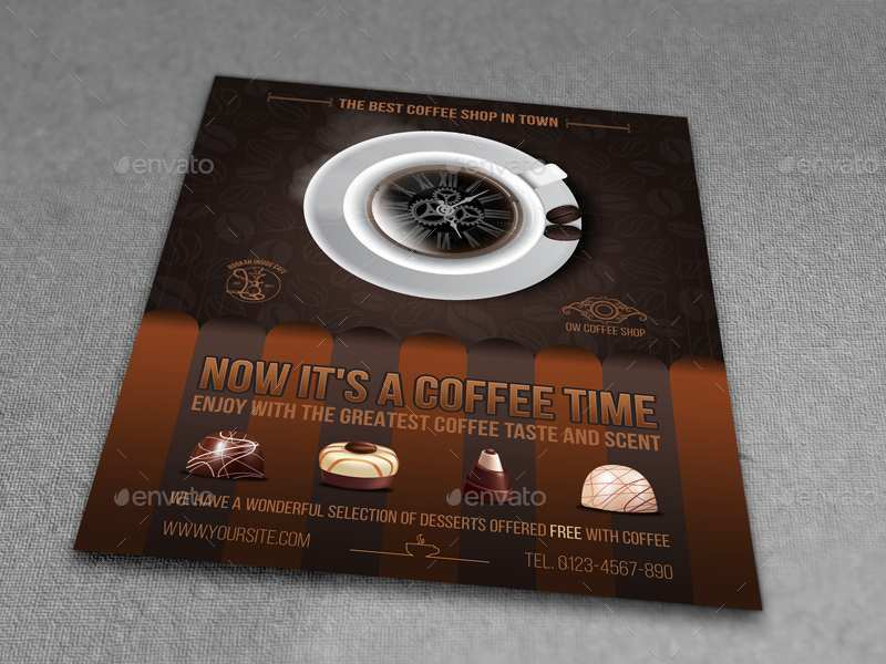 61 Printable Cafe Flyer Template Layouts for Cafe Flyer Template