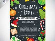 61 Report Christmas Party Flyer Template Maker by Christmas Party Flyer Template
