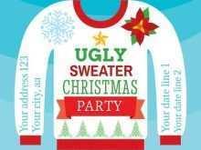 61 Standard Christmas Sweater Card Template Formating with Christmas Sweater Card Template