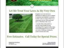 61 Standard Free Lawn Mowing Flyer Template in Word with Free Lawn Mowing Flyer Template