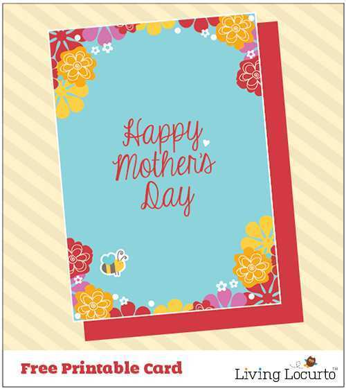 61 Visiting Mother S Day Card Craft Template in Photoshop with Mother S Day Card Craft Template