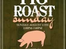 61 Visiting Pig Roast Flyer Template Free PSD File with Pig Roast Flyer Template Free
