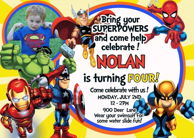 62 Adding Birthday Card Template Avengers Templates for Birthday Card Template Avengers