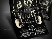 62 Best Black And White Party Flyer Template in Photoshop for Black And White Party Flyer Template