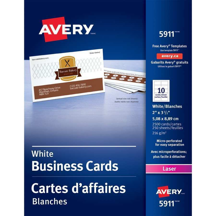 62 Blank Avery Business Card Template 5911 With Stunning Design with Avery Business Card Template 5911
