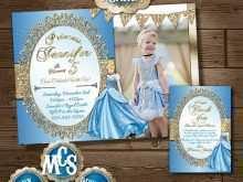 62 Blank Cinderella Birthday Card Template Templates with Cinderella Birthday Card Template