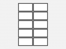 62 Create Blank Business Card Template Adobe Illustrator Formating with Blank Business Card Template Adobe Illustrator