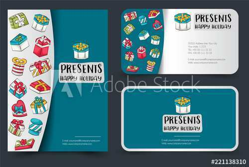 62 Create Business Card Box Illustration Template Now for Business Card Box Illustration Template