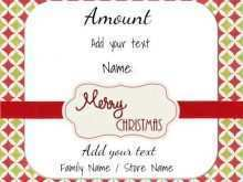62 Create Christmas Gift Card Template Free Download for Ms Word with Christmas Gift Card Template Free Download