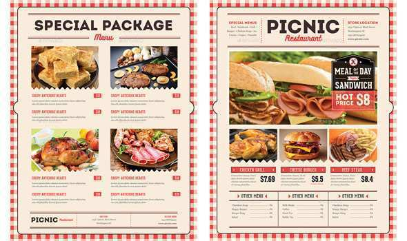 62 Creative Menu Flyers Free Templates Now By Menu Flyers Free