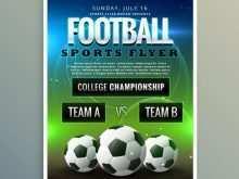 Soccer Tournament Flyer Event Template