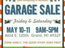 62 Customize Garage Sale Flyer Template Photo for Garage Sale Flyer Template