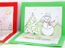 62 Format Christmas Card Template 3D Photo for Christmas Card Template 3D